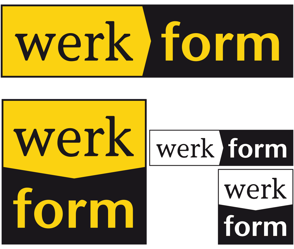 werkform Logo Variationen