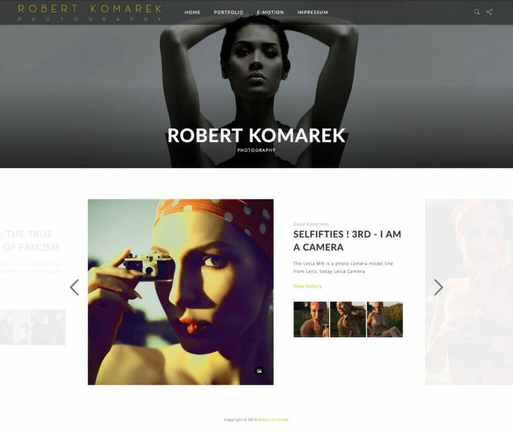 Robert Komarek Startseite