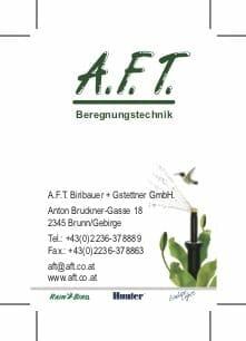 AFT Visitkarte
