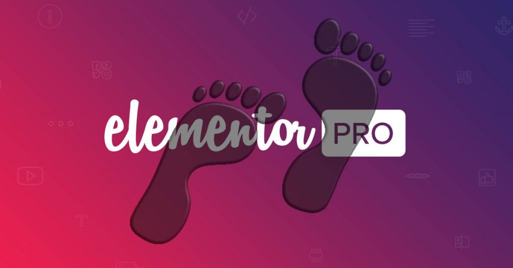 Elementor Pro Footer