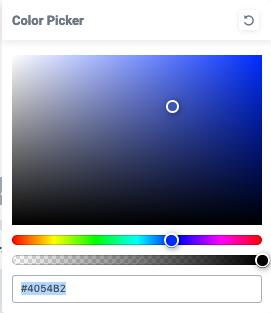 Elementor Farbwähler