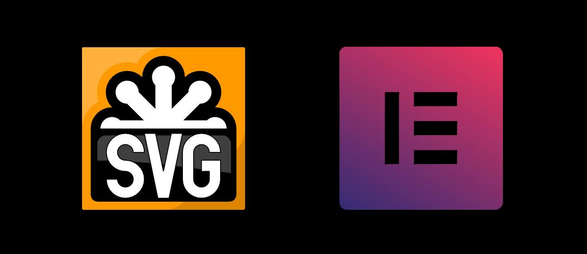 SVG Icons mit Elementor